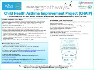 Child Health Asthma Improvement Project (CHAIP)
