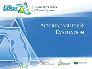 Accountability & Evaluation