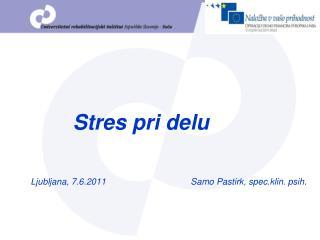 Stres pri delu