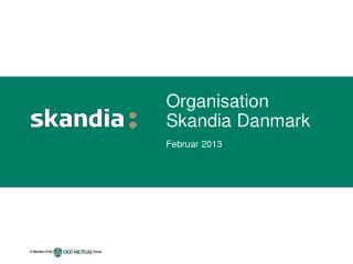Organisation Skandia Danmark
