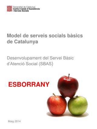 Model de serveis socials bàsics de Catalunya