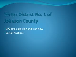 Water District No. 1 of Johnson County