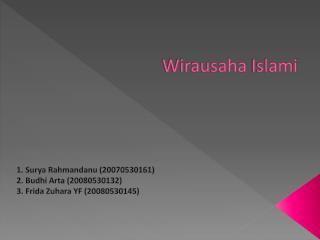 Wirausaha Islami