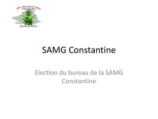 SAMG Constantine