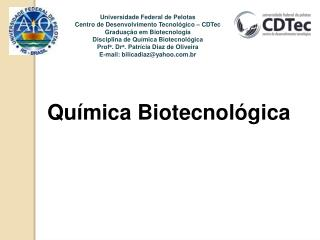 Química  Biotecnológica