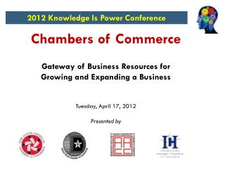 Chambers of Commerce Gateway of Business Resources for Growing and Expanding a Business