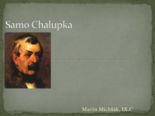 Samo Chalupka