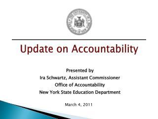 Update on Accountability