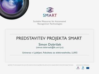 Predstavitev projekta SMART