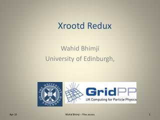 Xrootd Redux