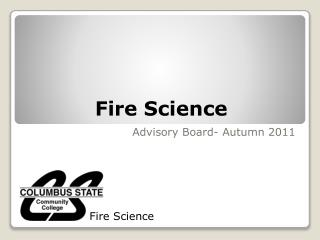 Fire Science