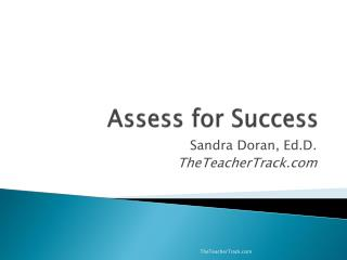 Assess for Success