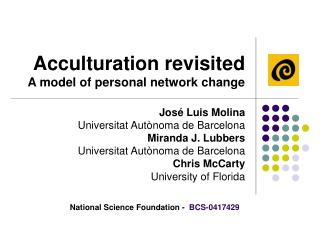 Acculturation revisited A model of personal network change