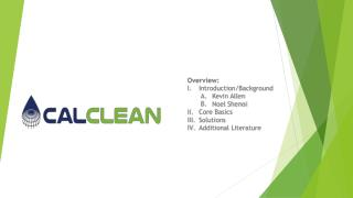 Overview: Introduction/Background Kevin Allen Noel  Shenoi Core Basics Solutions