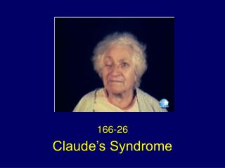Claude s Syndrome