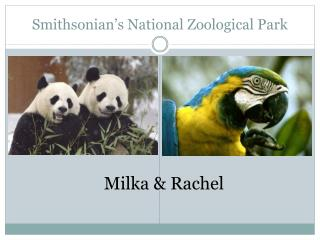 Smithsonian's National Zoological Park