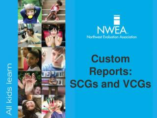 Custom Reports: SCGs and VCGs