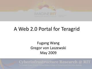 A Web 2.0 Portal for Teragrid