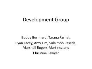 Development Group
