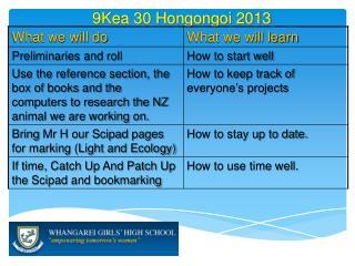 9Kea  30 Hongongoi  2013