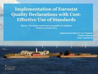 Mogens  G rosen Nielsen & Lars Thygesen, Statistics Denmark E-mail: mgn@dst.dk