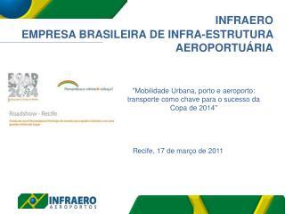 INFRAERO EMPRESA BRASILEIRA  DE INFRA-ESTRUTURA   AEROPORTUÁRIA