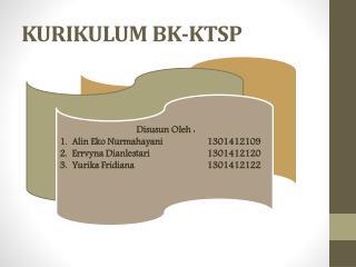KURIKULUM BK-KTSP