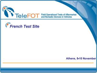 French Test Site