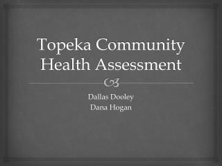 Topeka Community Health Assessment