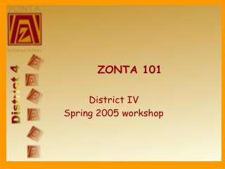 Zonta structure