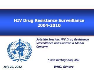 HIV Drug Resistance  S urveillance 2004-2010
