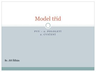 Model tříd