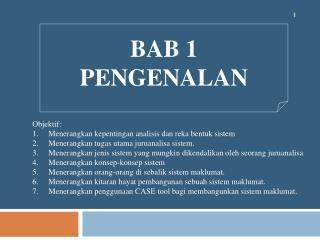 BAB 1 PENGENALAN