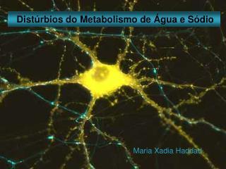 Distúrbios do  Metabolismo de Água e Sódio