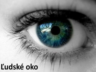 Ľudské oko