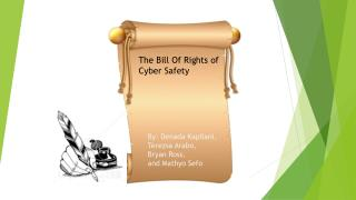 The Bill Of Rights of Cyber Safety