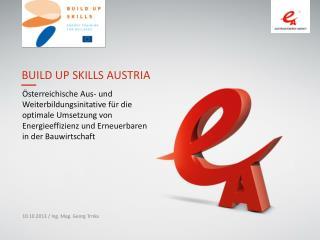 BUILD UP Skills Austria