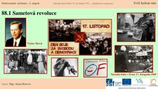 88.1 Sametov� revoluce