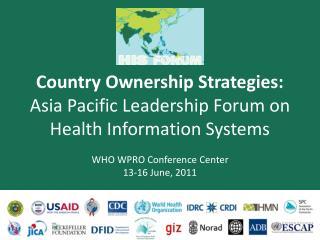Forum Introduction & Some Lessons to Date  John A. Novak PhD USAID/Washington
