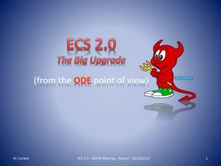 ECS 2.0 The Big Upgrade