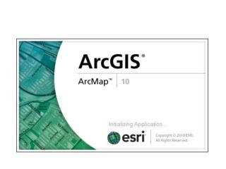 ArcGIS has a 3 part interface