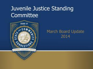Juvenile Justice Standing Committee