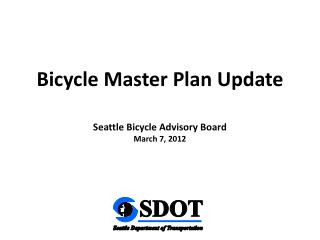 Bicycle Master Plan Update