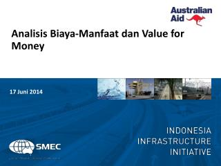 Analisis Biaya-Manfaat dan  Value for Money
