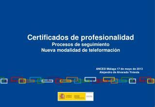 Normativa de Formación Profesional  para el Empleo