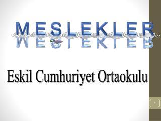 Eskil Cumhuriyet Ortaokulu