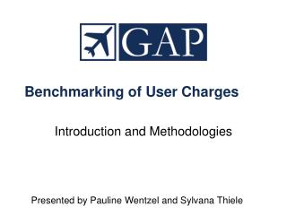 Benchmarking of User Charges