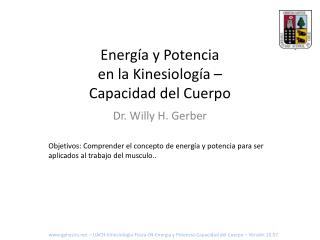 Energía y Potencia en la Kinesiología – Capacidad del Cuerpo