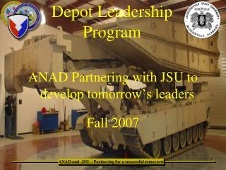 Depot Leadership Program