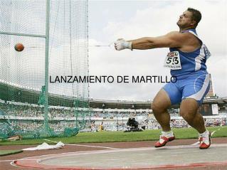LANZAMIENTO DE MARTILLO